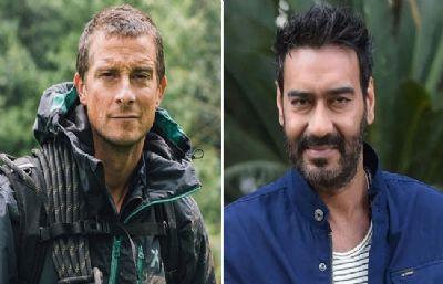 'इन्टू द वाइल्ड विद बेयर ग्रिल्स' में दिखेंगे अजय देवगन, शो टेलीकास्ट से पहले सोशल मीडिया पर आई मीम्स की बाढ़