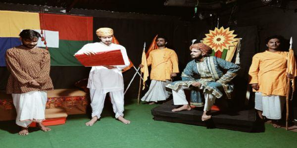 नेट थिएट पर बलिदान का सशक्त मंचन, क्रांतिकारी केसर सिंह बारेठ के बलिदान को दर्शाया