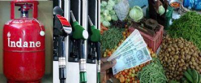 पेट्रोलियम पदार्थों में बढ़ोतरी जारी, रसोई पर महंगाई भारी
