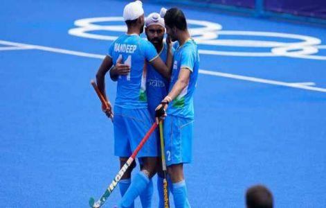 टोक्यो ओलंपिक : भारतीय हॉकी टीम ने अर्जेंटीना को हराया, क्वार्टर फाइनल में किया प्रवेश