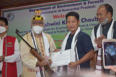 केंद्रीय मंत्री अश्विनी चौबे ने की अरुणाचल के प्राकृतिक सुंदरता की प्रशंसा