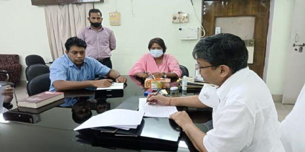 श्रीराम जन्मभूमि के आस-पास प्रस्तावित और निर्माणाधीन विकास कार्यो की हुई समीक्षा