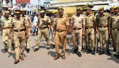 कानपुर शहर में किसान आंदोलन का भारत बंद रहा बेअसर, पुलिस का रहा सख्त पहरा